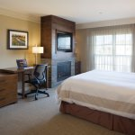 Premier Fireplace King guest room