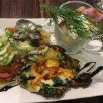 Spinach chicken and stew