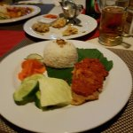 fish with balinese sambal