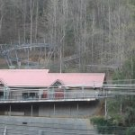 View of Gatlinburg Mountain Coaster from room