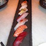 A platter of nigiri - fresh!