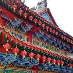 Thean Hou Temple - pleasant decoration