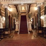 Grand staircase at the entrance