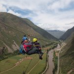 Ziplining over the Sacred Valley