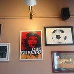 Inside Amici: a wall