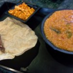 Bisi bele bhaath, with its accompaniments
