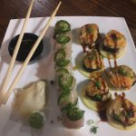 thai fighter and the keys sushi rolls