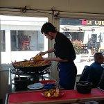 The Paella casserole