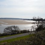 River Taw Estuary, from the Patio of Braunton Inn