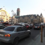 Traffic congestion in Kiev just like in Manhattan.
