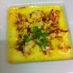Le gratin de homard O'reilly sauce safran menu à 59€