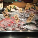 Very fresh seafood served at Uoshin nogizaka