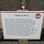 Officer latrines