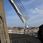 At the top you get a great viewing deck of the surrounding area and excitement of windmill actio
