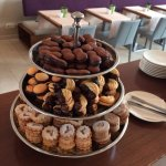 Morning snacks in the Executive Lounge