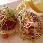 Raw Tuna Nachos