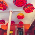 Cool ceiling decorations! :)