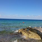 Beautiful, clear ocean water