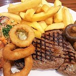 Rump steak - Excellent for £10.95