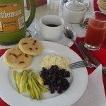 Comida de la mañana