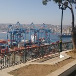vista al puerto desde el paseo 21 de mayo
