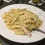 Green Mill Restaurant - Winona - Fettucine Alfredo with Chicken