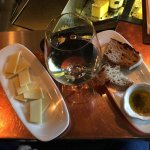 Very good service. I was offered the right cheese with the wine and the bread and olive oil was