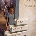 Exhibit in the Miraflores locks exhibit hall