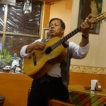 We were serenaded by this gentleman here and saw him at another restaurant in town as well.