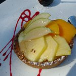 tartelette au sucre (fruits en option)