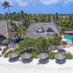 Birds view of Zanzibar Retreat Hotel