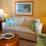 "SEASCAPE Lounge with comfy sofas -  50""  TV"