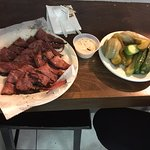 Pastrami and Pickle Plate