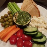 the Hummus & Pita appetizer