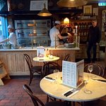 Bistro style and charming restaurant. Friendly service. Good food.