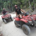 Riding our ATVs