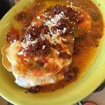 Huevos Rancheros w/Chorizo add