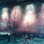 Mural expuesto en el local