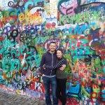 John Lennon wall in Prague.