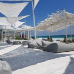 Coco Tulum's Beach Club. It's a pretty happening place so get there early if you want a chair!