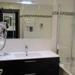 Salle de bain très spacieuse