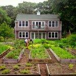 Hayloft and Kitchen Garden