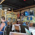 True island bar ambiance.