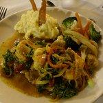 Beautiful Shrimp Dish at El Manglar