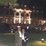 Noche de Recepción en los jardines del Palacio Duhau, Hotel Park Hyatt, Buenos Aires, Argentina