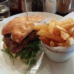 Steak sandwich-sirloin steak, nice!