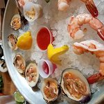 Raw Bar with Clams and Shrimp