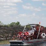 another airboat from Spirit of the Swamp