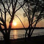 Beautiful sunset in East Potomac park