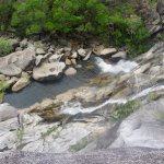 Wilderness Eco Safaris Tours - waterfall with swimming billabong